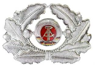 East German cap badge